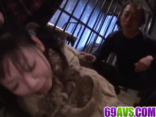 Minami Asaka licked and fucked hard by two