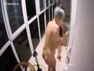 Lustfu Stepmom Adults Started Hot Group Sex Action At Apartment Balcony