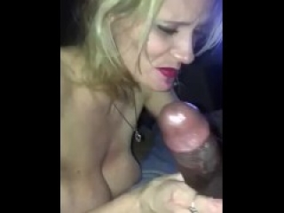 Friends mom deep throats BBC