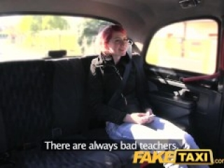 FakeTaxi Innocent teen takes big fat cock