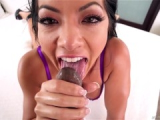 Asian Babe Morgan Lee BBC Anal
