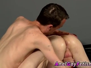 Men peeing in guys ass and young men