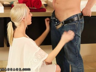 Cadence Lux gives Him his Nuru Fantasy