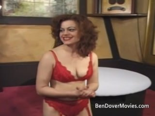 Bev gets ass drilled by three guys and Ben Dover