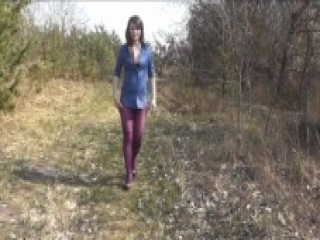 Golden Rain - second adult film from DuBarry: close up wet pussy, pantyhose