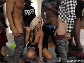 Alena Croft Getting Drilled Interracially