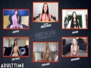 Angela White Hosts OVER THE EDGE Jerk Off & Edging Challenge - ADULT TIME