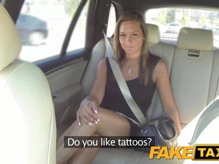 Fake Taxi Cute customer with natural tits