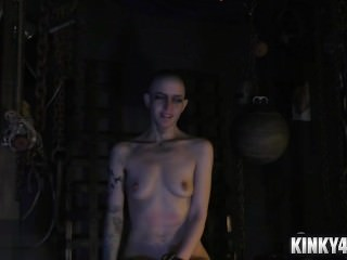 Hot slave bdsm and cumshot