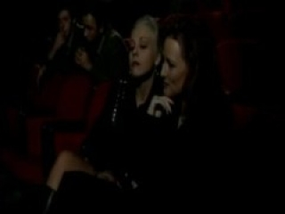 Two Horny Women Check Out An Adult Movie Theater Very HOt